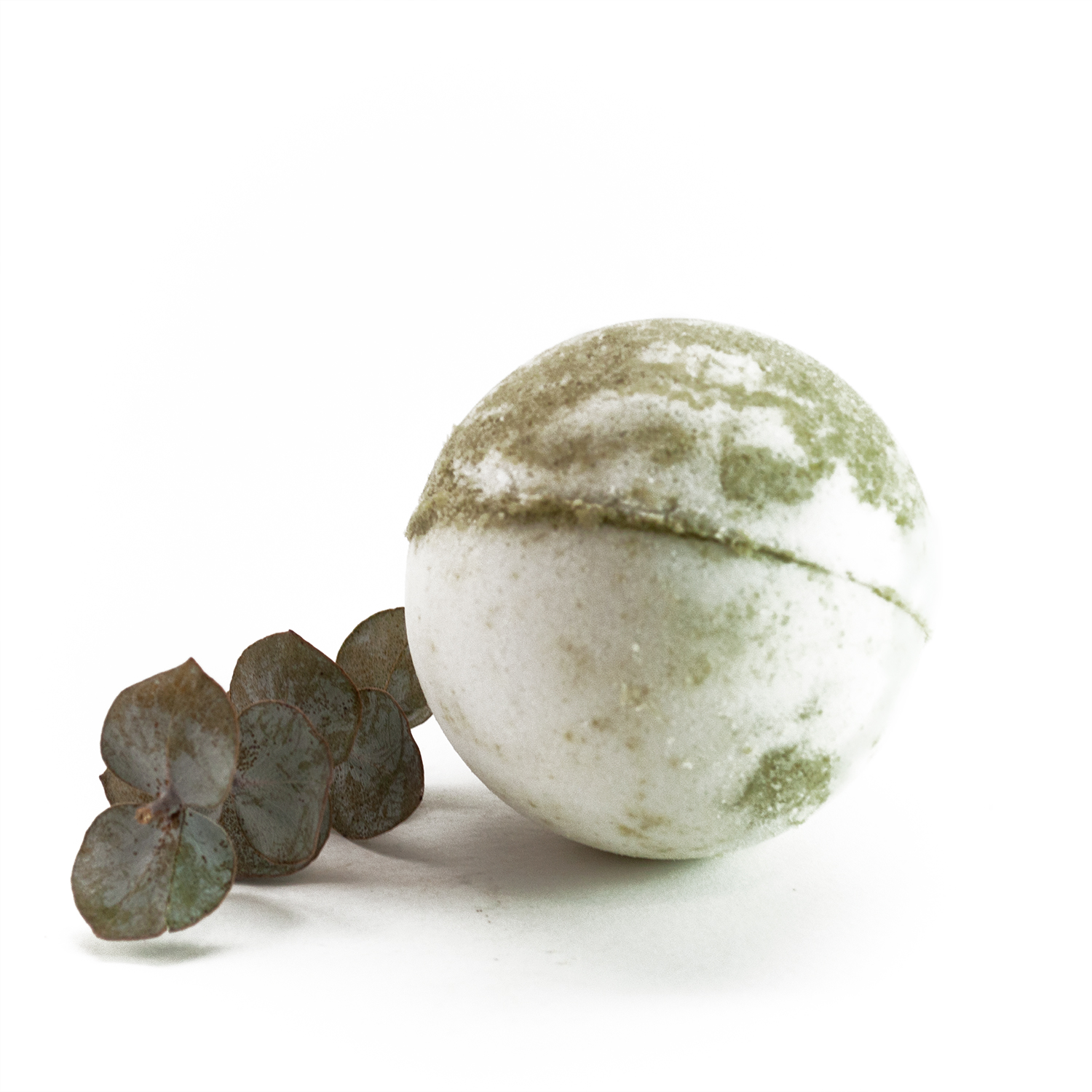green tea bath bomb 3