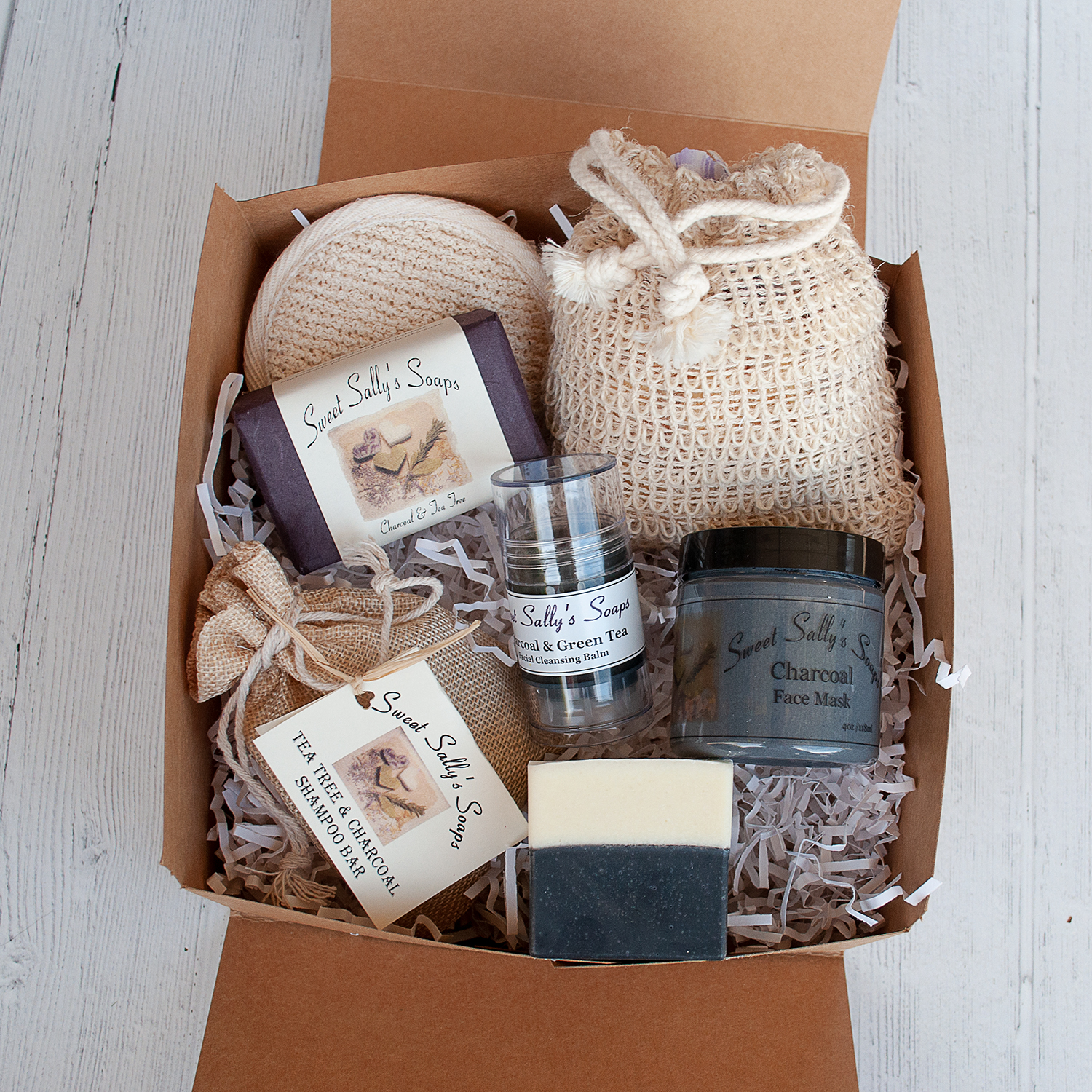 Charcoal Self-Care Gift Set